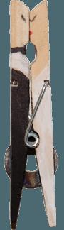 евтино дървено сватбено сувенриче