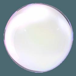 духане на голям балон от сапунена вода