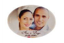 магнити със снимка за сватба