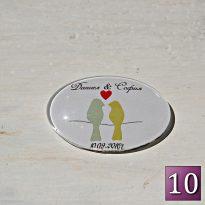 сувенири за гости на сватба с магнит