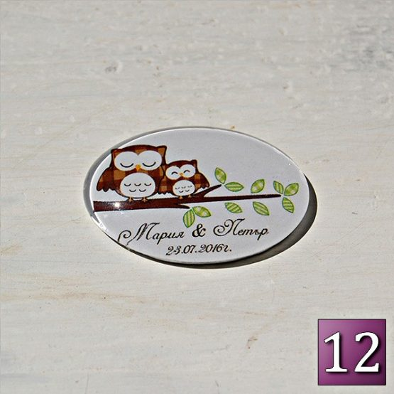 красиви сватбени сувенирчета магнити