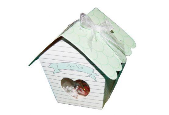 кутийки за бонбони за кръщене и сватба