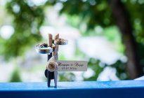щипки младоженци за гости на сватба