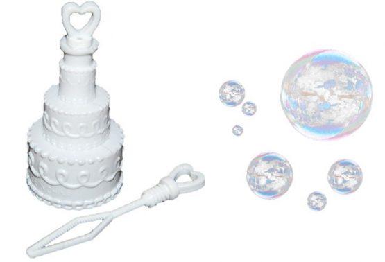 играчка за правене на сапунени мехурчета за сватба