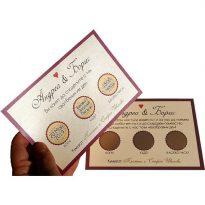 покани за сватба ръчна изработка
