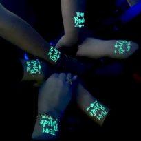 светещи татуировки за ергенско парти