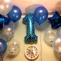 фолиев балон за първи рожден ден