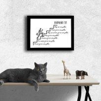 мотивираща картина за офиса или дома