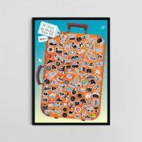скреч постер с 99 идеи за правене през целия живот