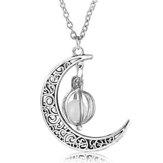 светещ медальон луна
