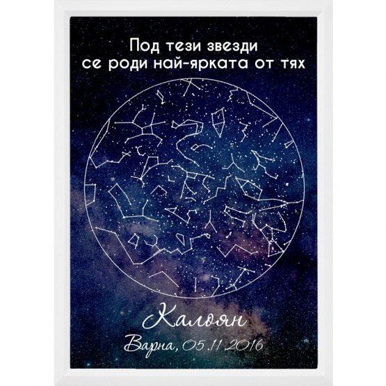 звездна карта на специален момент