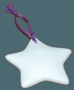 гипсова звезда подарък за гостите на сватбата