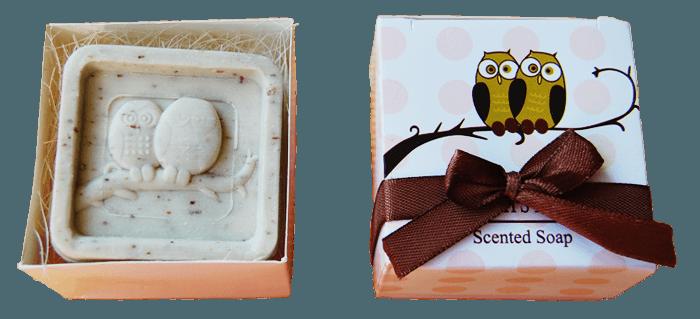 евтини сапунчета с бухалчета за гости на сватба