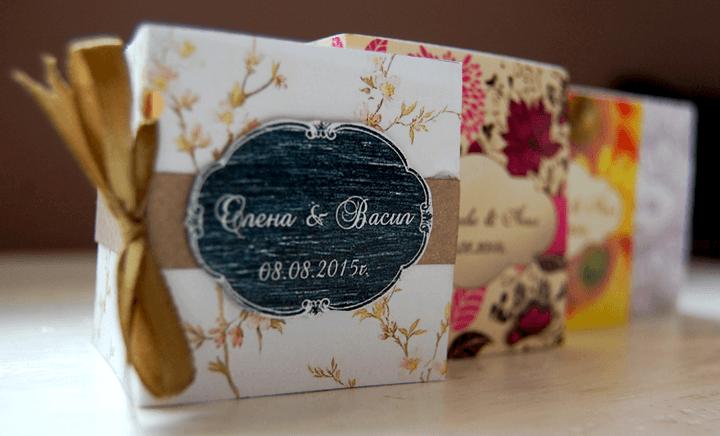красиви сватбени сувенири