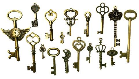 старинни ключета за сватба