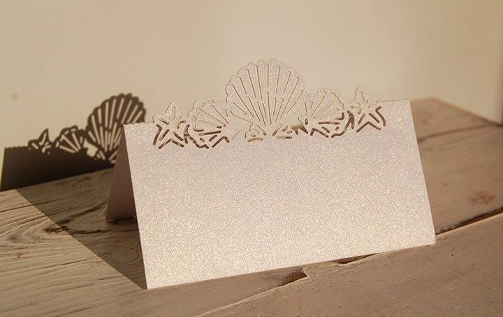 табелки за морска сватба