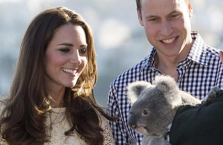 Принц Уилям и Кейт Мидълтън в Зоопарка