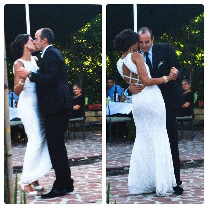 първи сватбен танц на младоженците