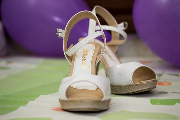 евтини сватбени обувки