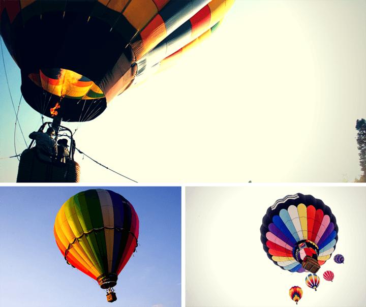 романтичен подарък за сватба полет с балон