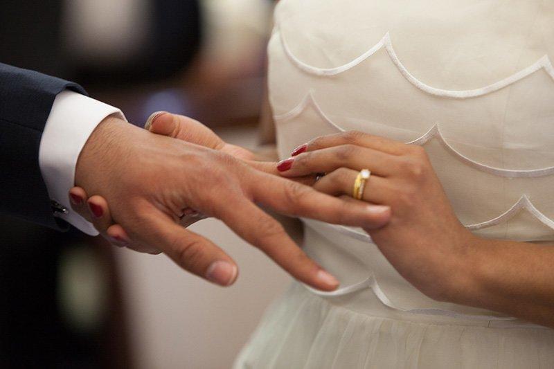 размяна на сватбени халки