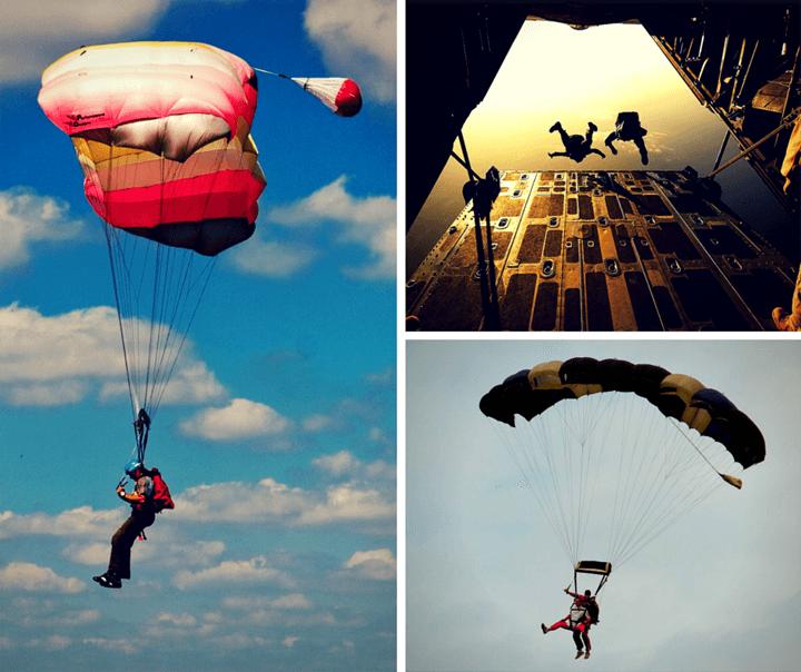 скок с парашут от аспаруховия мост във Варна
